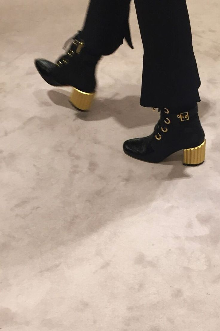 Dior Cruise Collection 2017 ankle boots.