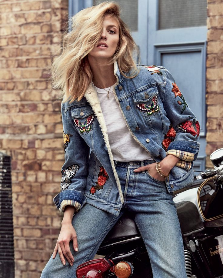 elevated denim: anja rubik by chris colls for porter #15 summer escape 2016 | visual optimism; fashion editorials, shows, campaigns & more!