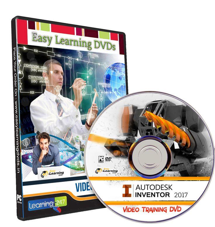 Autodesk Inventor 2017 Video Training Tutorial DVD