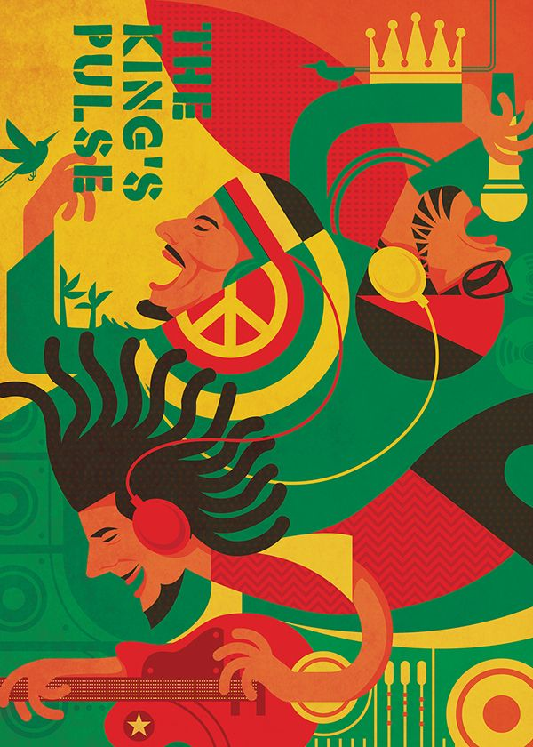 reggae poster style - Google Search