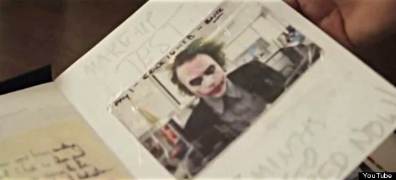 Heath Ledger's Joker Diary- this may be the most intriguing/ creepy thing I have ever read about!