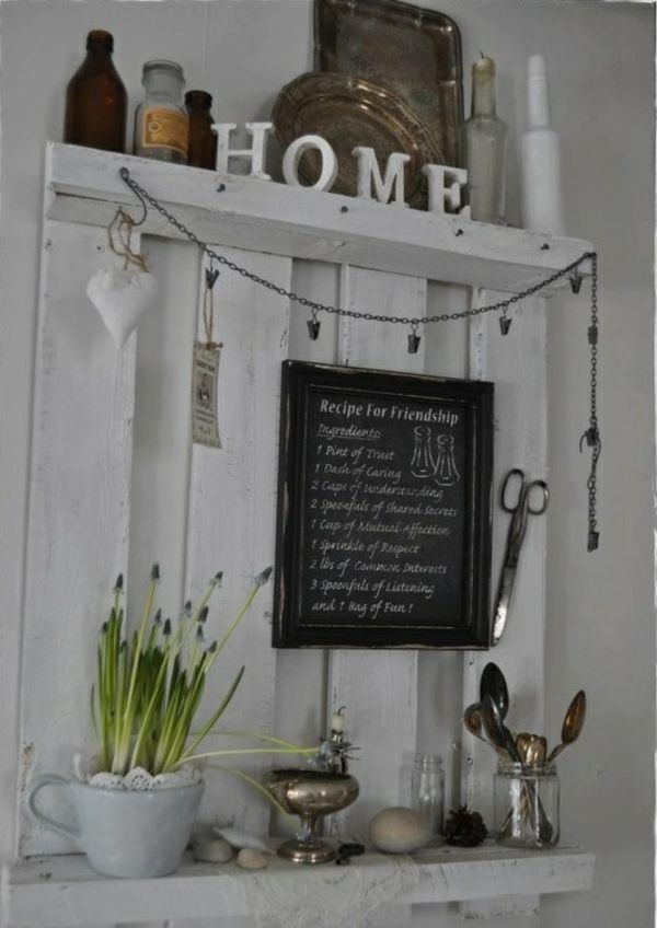 66 best Living Country Chic images on Pinterest Country chic - küche aus europaletten