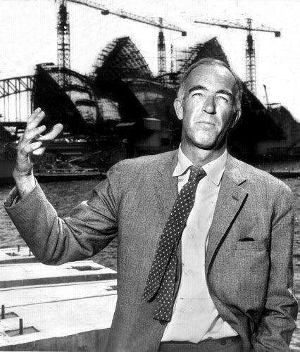 DENMARK. Jørn Utzon (1918-2008.) The Danish architect who designed the iconic Sydney Opera House.
