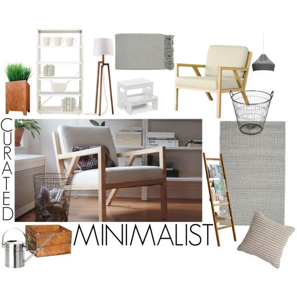 """The Curated Minimalist"" by smartfurniture on Polyvore"