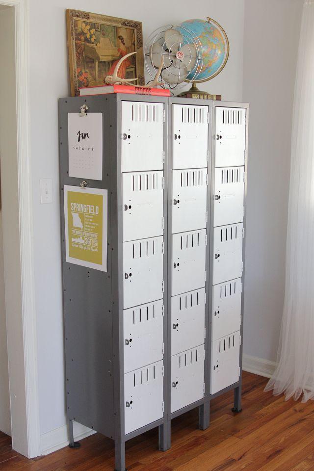 Best 25+ Repurposed lockers ideas on Pinterest | Pink hallway ...