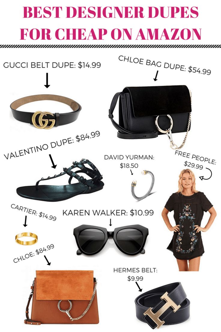 BEST DESIGNER DUPES FOR CHEAP ON AMAZON THAT EVERY GIRL SHOULD KNOW ABOUT