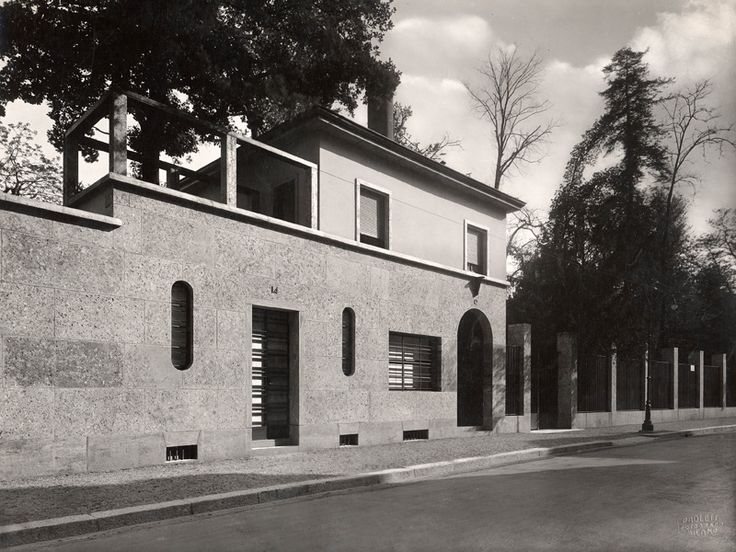 Villa Necchi Campiglio - Piero Portaluppi - itineraries - Ordine degli architetti, P.P.C della provincia di Milano