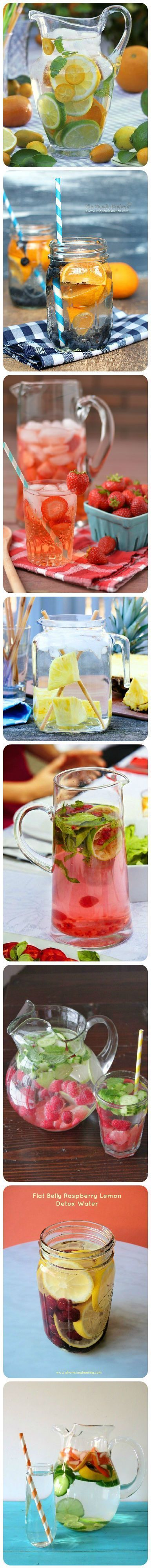 25 Detox Waters For Clean And Healthy Living | Cleansing Detox Water Healthy Drinks at Makeup Tutorials. #makeuptutorials | makeuptutorials.com