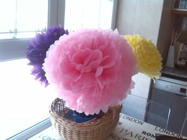 Flors paper de seda