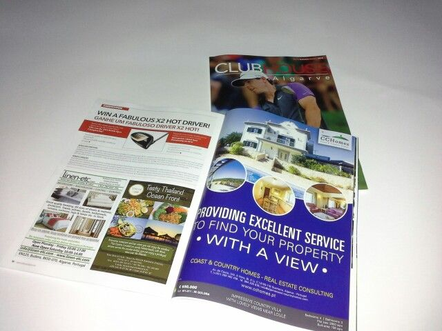 CCHomes - Coast & Country Homes - Real Estate Consulting  in the ClubeHouse Algarve Magazine