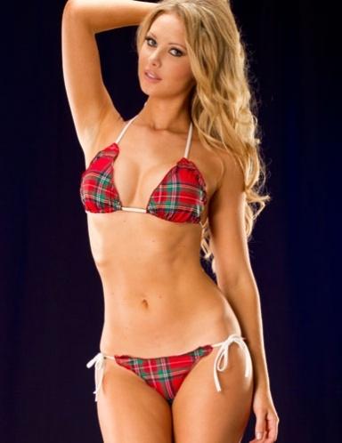 Sexy scalloped bikini set. $39.95.