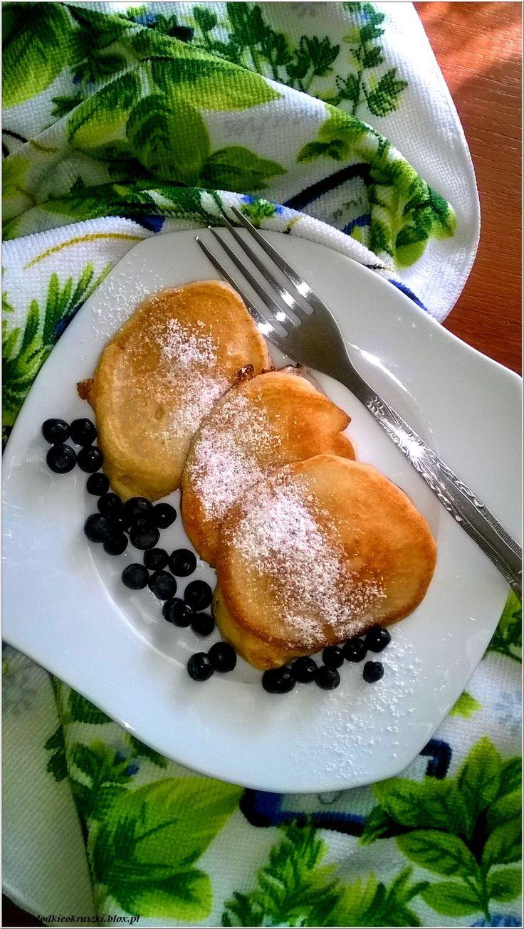 Puszyste i ekspresowe placuszki kefirowe na śniadanie