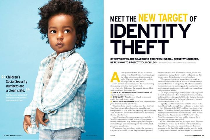 identity crime piece of writing point in time magazine