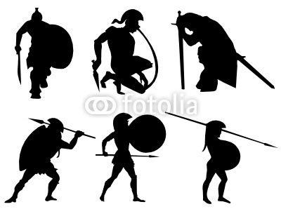 Warrior Vector Google Search Comic Poses Pinterest