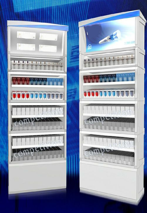 cigarette merchandising displays dispensers by S.Guray HALICIOGLU at Coroflot.com