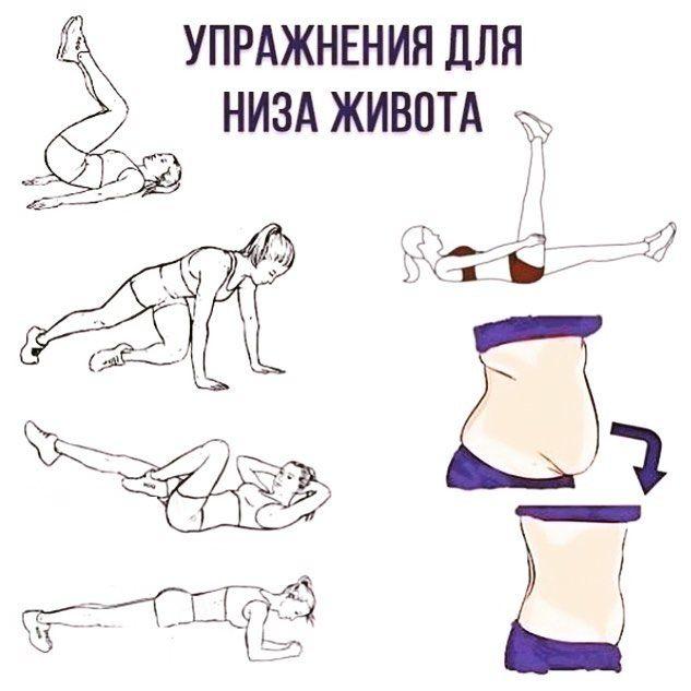 упражнения быстро похудеть в картинках дизайне настоящим трендом