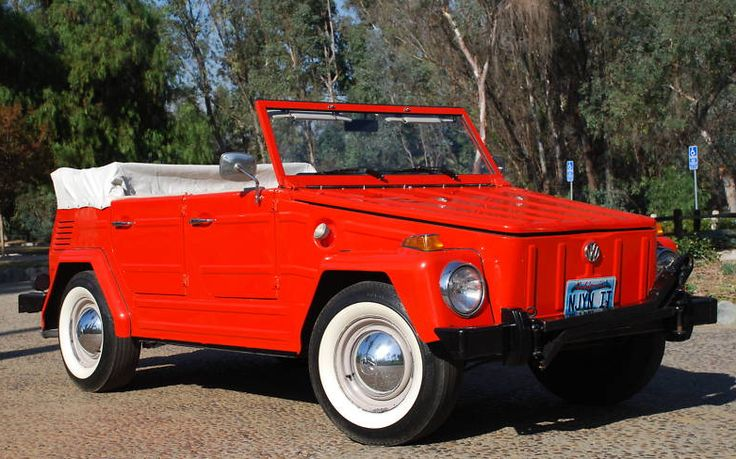 """VW Thing. I wanna take this """"Thing"""", and replace the guts with that of a Corvette or Viper...preferably a Viper"""