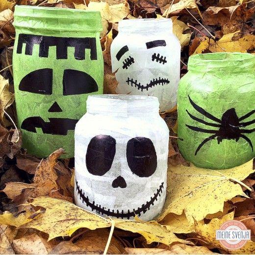 Grusellichter für Halloween