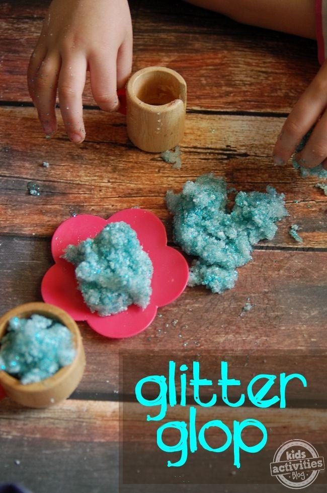 3 Ingredient Glop - A Play Recipe - Kids Activities Blog
