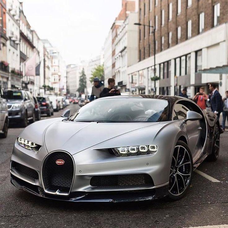 Bugatti Chiron On The Streets Of London