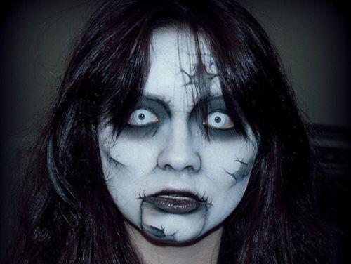 58 best MakeUp-Halloween images on Pinterest | Costumes, Halloween ...