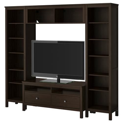 HEMNES Σύνθεση αποθήκευσης TV - IKEA