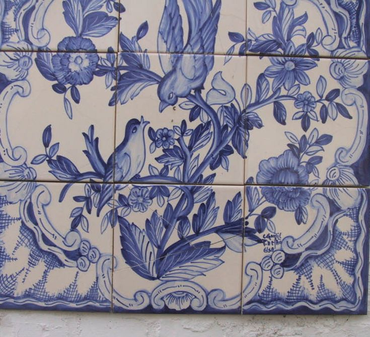 All sizes | azulejos in our garden | Flickr - Photo Sharing!