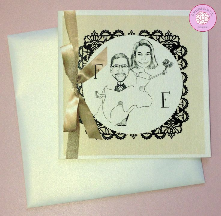 #invitación #boda #personalizada #diseño #handmade #retratos #eventos #wedding #design
