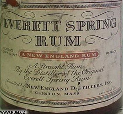 Everett Spring, New England Distilling Co., Covington, KY & Clinton, MA (United States) www.facebook.com/rumlog #rum #rumlog #cocktail #happyhour