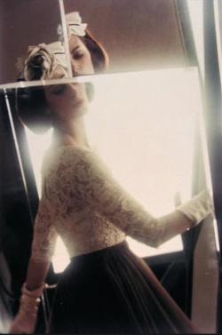 Carmen Dell'Orefice by Saul Leiter