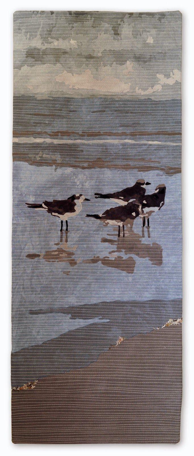 "Florida: Gulls ©2015, 14"" x 37"""
