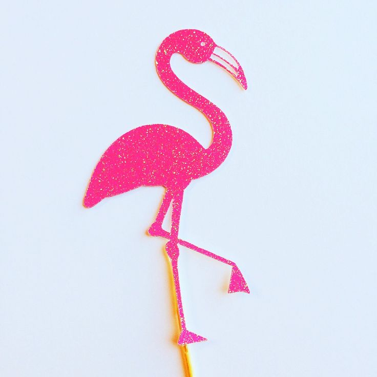 Pink Flamingo Cupcake toppers- Cupcake Toppers- glitter flamingos by sprinkledwithpaper on Etsy https://www.etsy.com/listing/255557354/pink-flamingo-cupcake-toppers-cupcake