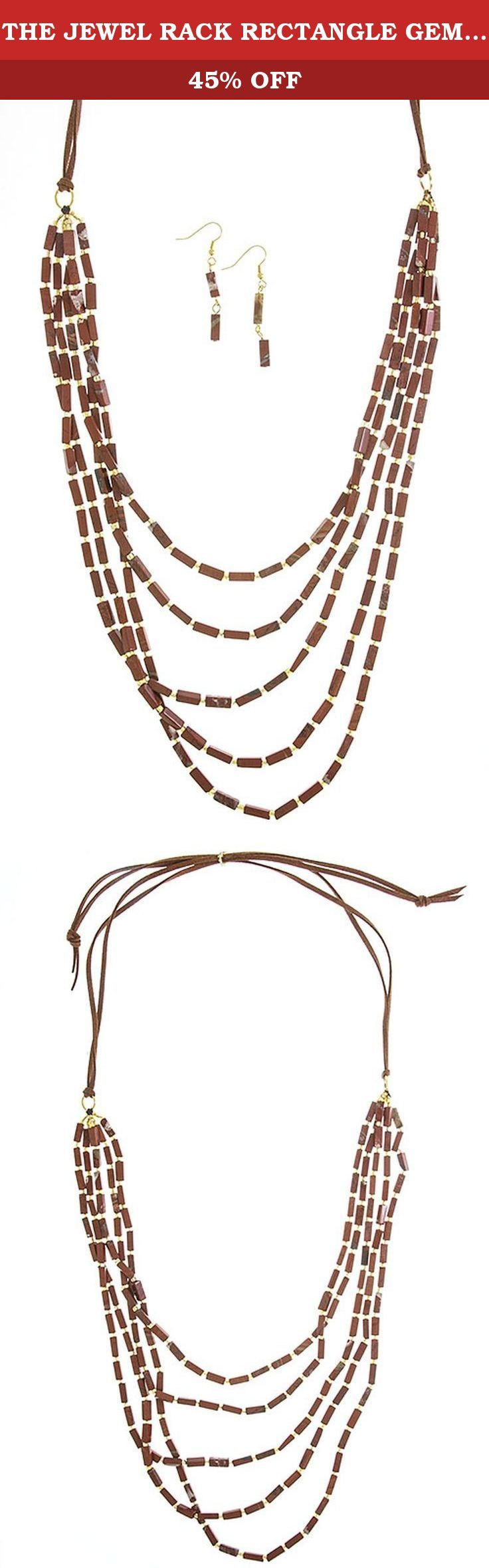 THE JEWEL RACK RECTANGLE GEM TIERED LONG NECKLACE SET. FASHION DESTINATION PRESENTS THE JEWEL RACK RECTANGLE GEM TIERED LONG NECKLACE SET. Buy brand-name Fashion Jewelry for everyday discount prices with Fashion Destination! Everyday LOW shipping *. Read product reviews on Fashion Necklaces, Fashion Bracelets, Fashion Earrings & more. Shop the Fashion Destination store for a wide selection of rings, bracelets, necklaces, earrings and diamond jewelry. Whether you are searching for men's...