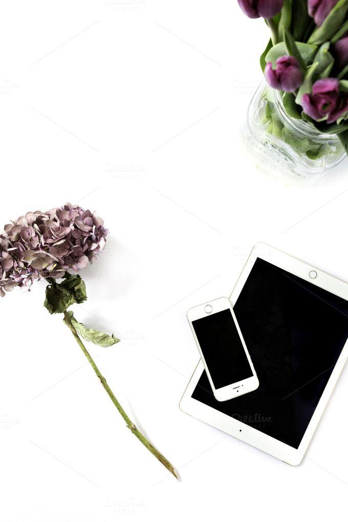 Flowers Styled Brand Stock Photo by Petra Veikkola on Creative Market