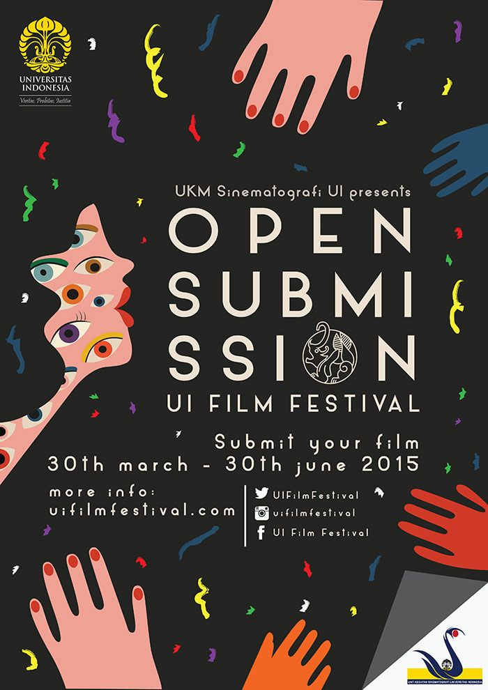 Poster / Open Submission / Festival du Film / Affiches / Poster / Graphisme / Publicité / Inspiration / Illustration