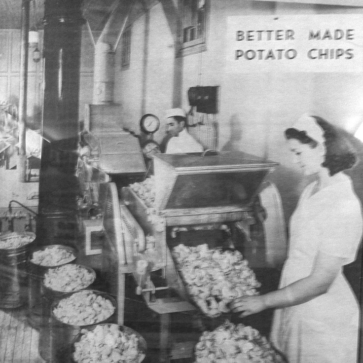 Michigan Made - Better Made - Since 1930 (via Better Made Snack Foods fb page)