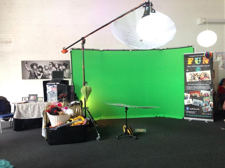 Our #greenscreen #photobooth #funbooth #funboothstudio #setup #BOOM