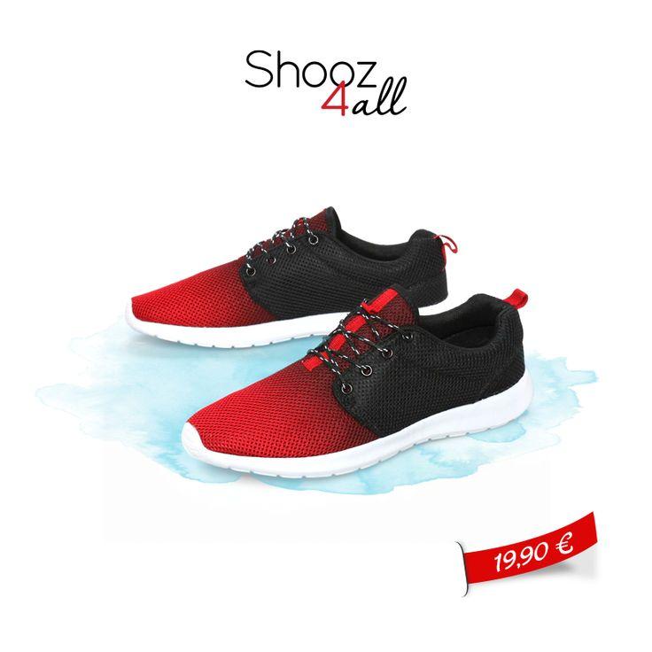 Κόκκινα ανδρικά αθλητικά παπούτσια από εξαιρετικό ύφασμα mesh. Προσφέρουν εξαιρετική υποστήριξη, τέλεια εφαρμογή και απορρόφηση των κραδασμών. Είναι ιδανικά για ήπιο τρέξιμο, για προπόνηση αλλά και sport casual εμφανίσεις! http://www.shooz4all.com/el/andrika-papoutsia/andrika-athlitika-papoutsia/kokkina-antrika-athlitika-papoytsia-gf-47-detail #shooz4all #andrika #athlitika