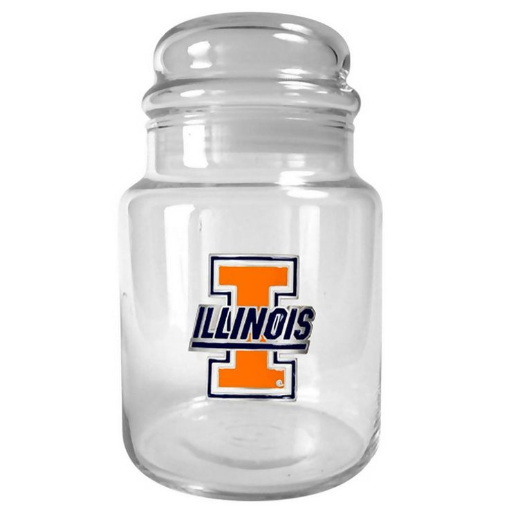 Illinois Fighting Illini Candy Jar, Multicolor