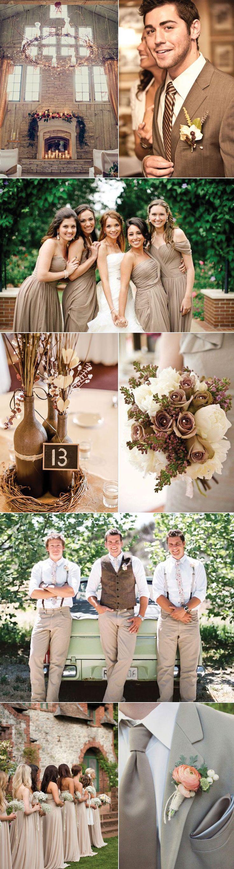 best 25 taupe wedding ideas on pinterest rustic wedding colors