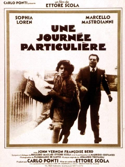 "269. ""Une Journée Particulière"" (Una Giornata Particolare) d'Ettore Scola avec Sophia Loren et Marcello Mastroïani. Italie.1977."