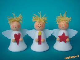 Výsledek obrázku pro tvoření s dětmi andělíček