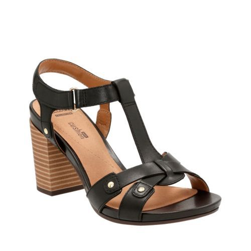 Banoy Valtina Black Leather womens-collection