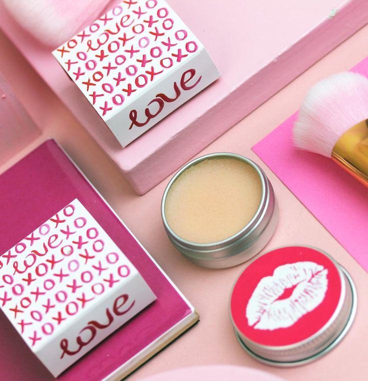 Valentines LOVE Prosecco Lip Balm