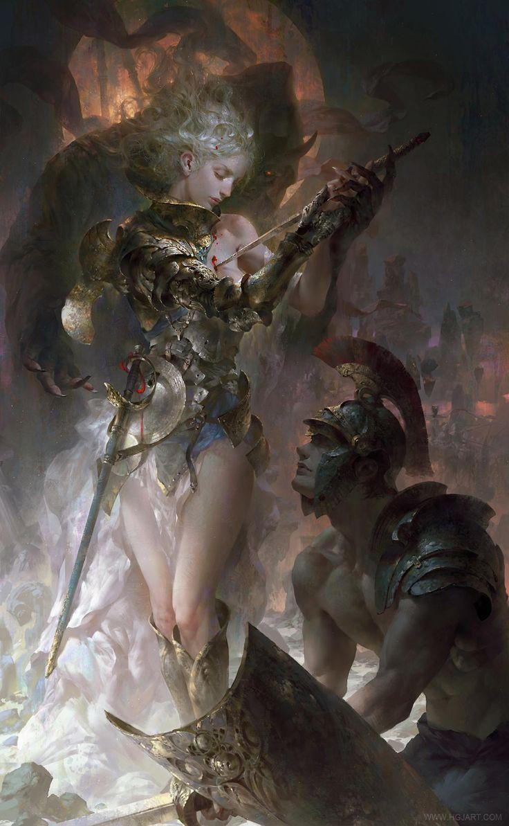 Added new work by concept artist @gjart1 Guangjian Huang! http://goo.gl/Rd4ZzU #fantasy #illustration