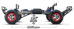RC car Traxxas 2WD scale