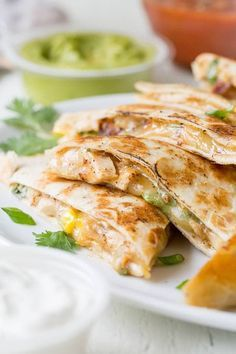 This 30-minute chees This 30-minute cheesy chicken quesadillas recipe is super quick and easy weeknight dinner made delicious! #ad Recipe : http://ift.tt/1hGiZgA And @ItsNutella  http://ift.tt/2v8iUYW
