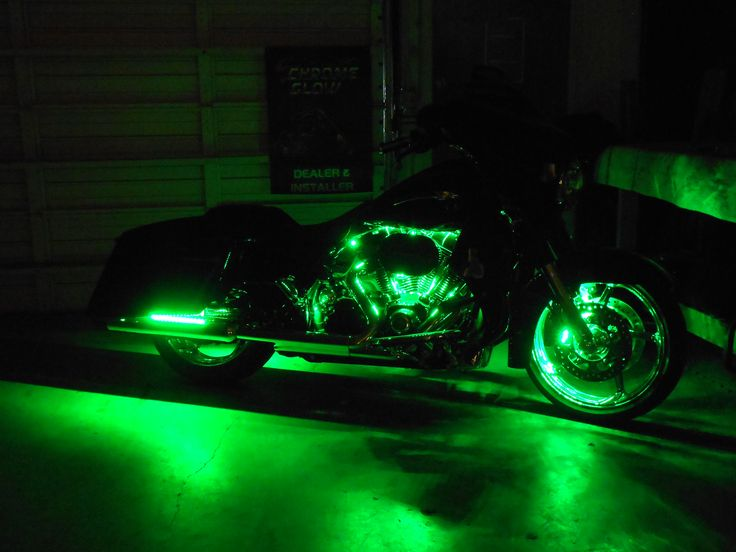Custom Fusion Led Accent Kit On This 2015 Cvo Street Glide