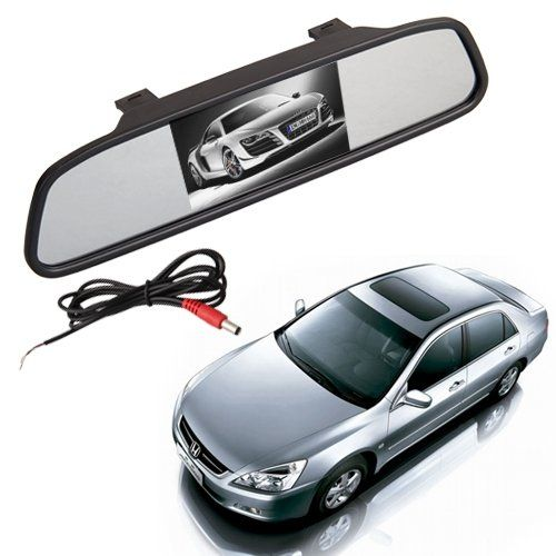 "Espejo con Monitor 4.3"" TFT LCD para Camara Retrovisor coche #Espejo #Monitor #para #Camara #Retrovisor #coche"