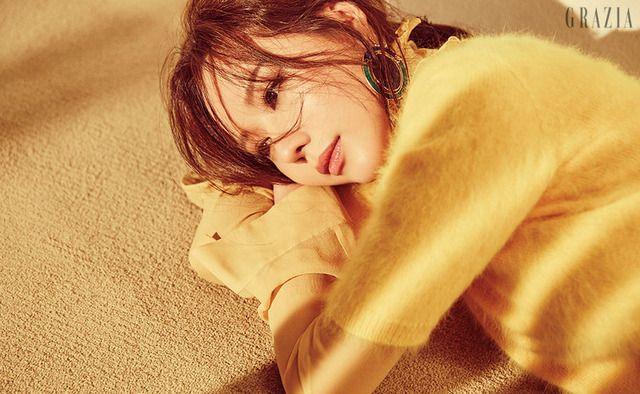 Kim Ah Joong For January Grazia   Couch Kimchi